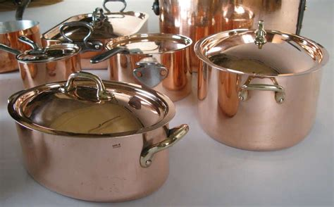 collection  antique french  english copper cookware  stdibs