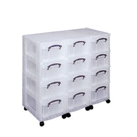 tour de rangement multi tiroirs en plastique sur roulettes