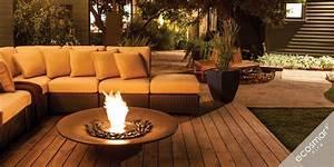 emejing ethanol feuerstelle outdoor pictures With feuerstelle garten mit outdoor vorhang balkon
