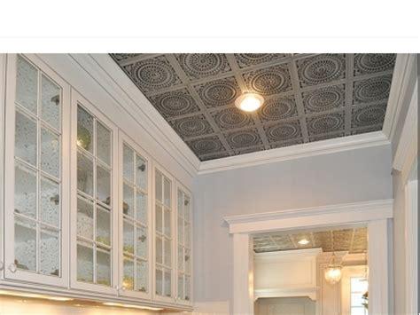 Faux Metal Ceiling Tiles Faux Tin Ceiling Tiles Glue Up