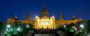 Photo Of Palau Nacional At Night  Montjuic  Barcelona  Spain
