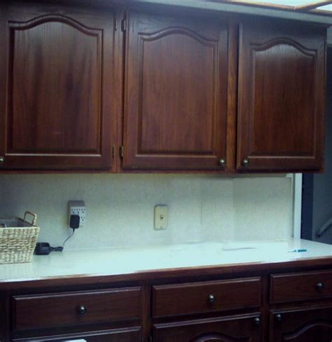 oak cabinets stained dark kitchen pinterest oak