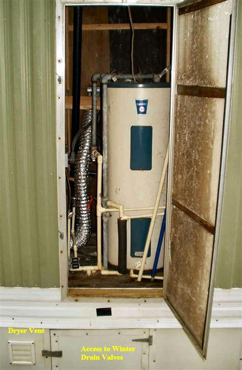 plumbing closet