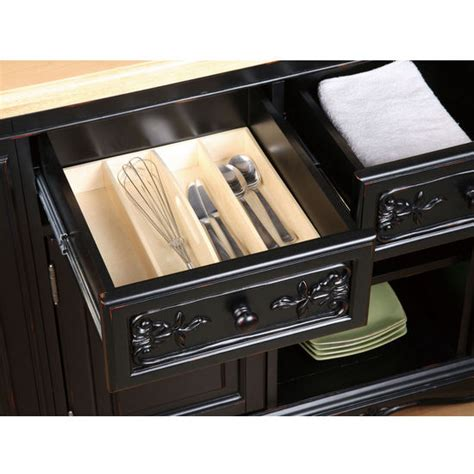 powell kitchen islands powell pennfield butcher block kitchen island kitchensource com