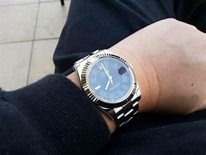 Rolex Datejust 36mm On Wrist - www.notchilous.com