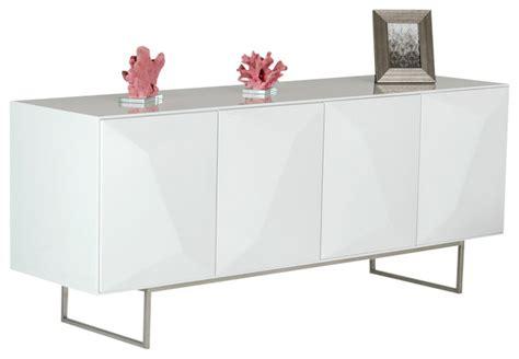 White Sideboard Modern by Vig Furniture Vanguard Modern White Buffet View In