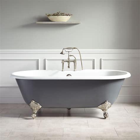 cast iron bathtub 66 quot sanford cast iron clawfoot tub imperial