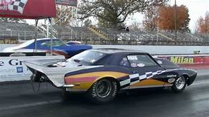 Let The Cars Do The Talking Muscle Car Drag Racing At