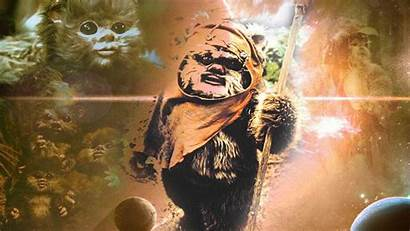 Ewoks Ewok Wars Star Endor Wallpapers Battle