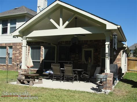 outdoor covered patio builders  houston stonecraft