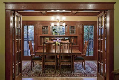 Laurelhurst 1912 Craftsman Dining Room After  Hooked On