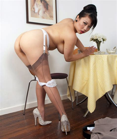 Asian Woman In Seamed Stockings Porn Pic Eporner