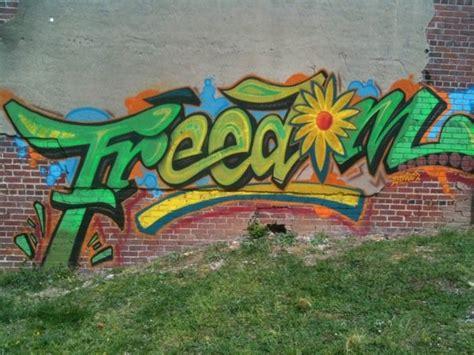 Graffiti Freedom : Fragment De Tags