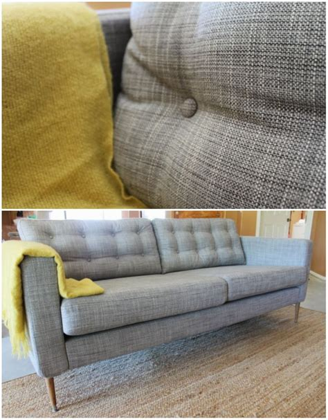 Karlstad Sofa Leg Hack by Ikea Karlstad Sofa Hack Pretty Home Stuff