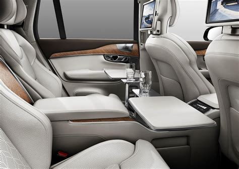 volvo xc excellence  seater suv unveiled