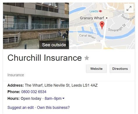 Churchill Insurance Customer Service Contact Number, 0843