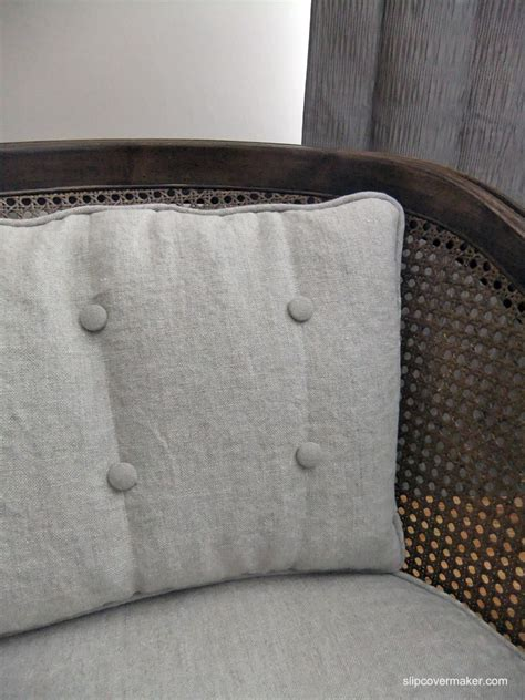 barrel chair cushions cushion slipcovers the slipcover maker