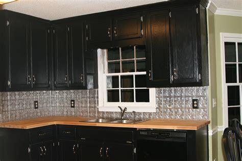 Kitchen: Stunning Kitchen Decoration With Dark Brown Black