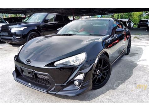 toyota   gt   selangor automatic coupe black