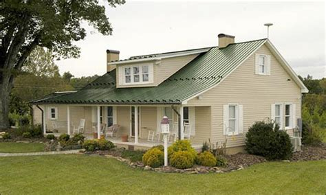 house vinyl siding color schemes house with green metal