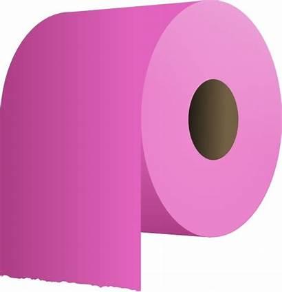 Toilet Paper Roll Clip Clipart Vector Svg