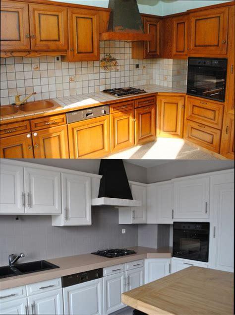repeindre meuble cuisine bois cuisine bois quelle peinture pour repeindre meuble