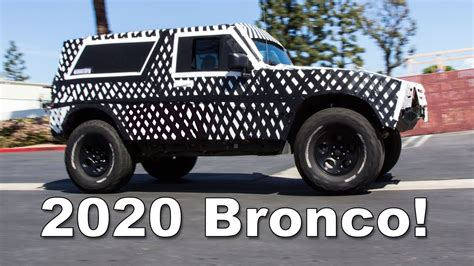 ford bronco    expect youtube