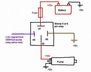 Corvette Fuel Pump Relay Wiring Diagram