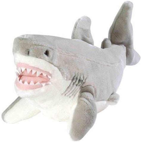 megalodon shark soft toy great white shark