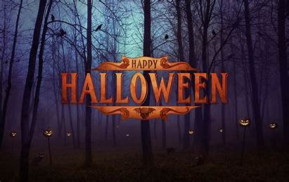Halloween Happy Background Scary Backgrounds Wallpapers Spider