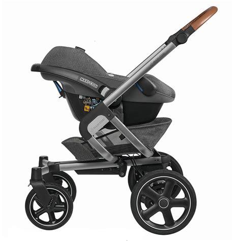 siege baby auto poussette 3 roues de bébé confort maxi cosi 15