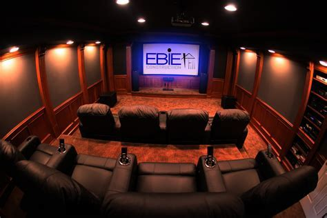 Theater Rooms   Ebie Construction
