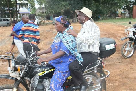 Makueni Governor Kibwana Hands Over 137 Motor