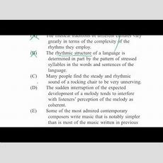 Lsat Reading Comprehension Humanities Passage Example Video (video)  Khan Academy