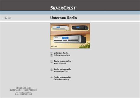 cabinet de recrutement mode mode d emploi silvercrest kh 2396 cabinet radio trouver une solution 224 un probl 232 me