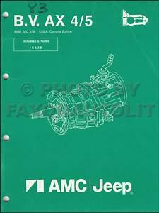 1987 Jeep Cherokee  U0026 Wagoneer Original Wiring Diagram