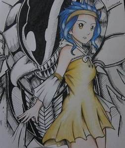 Metalicana and Levy by DeadFenrir on DeviantArt