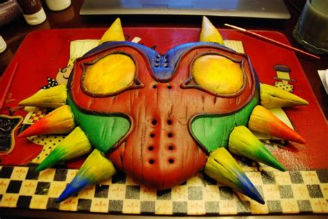 A Real Life Majoras Mask From Legend Of Zelda Others