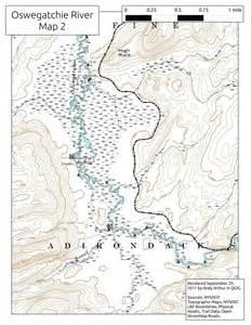 Oswegatchie River NY Map
