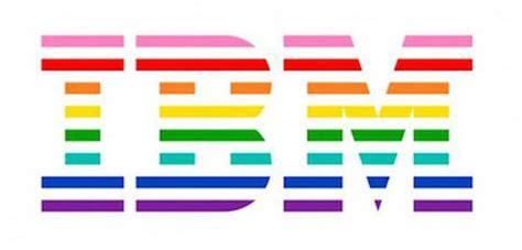 IBM Unveils New Logo Incorporating The Rainbow PRIDE Flag ...