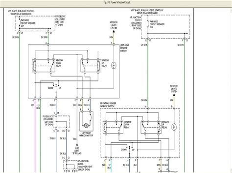 Chevy Tahoe Electric Window Diagram Wiring Forums