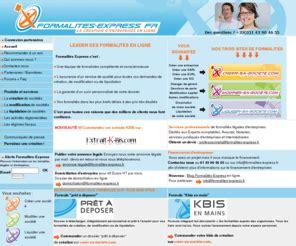 Modification Kbis by Formalites Express Org Formalites Express Leader Des