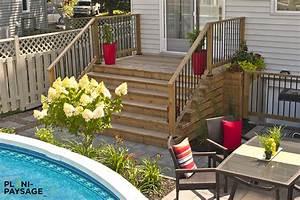 Amenagement exterieur avec piscine hors terre for Creer un jardin contemporain 10 amenagement exterieur avec piscine hors terre