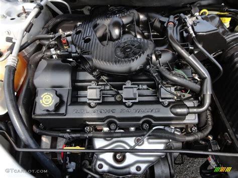 2004 Chrysler Sebring Engine by 2004 Chrysler Sebring Gtc Convertible 2 7 Liter Dohc 24