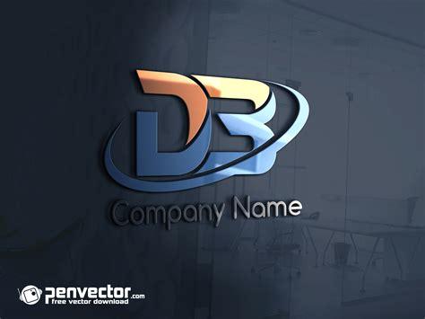 Letter DB Logo Free Vector