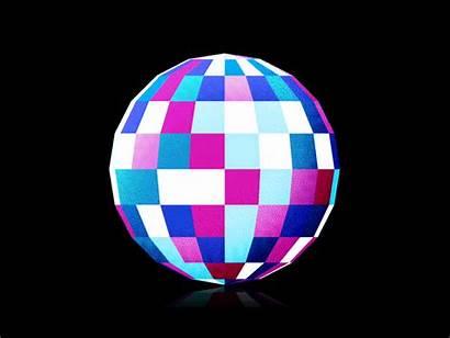 Disco Ball Flashing Dribbble Party Discoball Upcoming