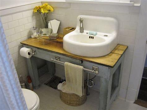 Ikea Wall Mount Bathroom Sink Vintage Sink Or Ikea Sink On A Vintage Dresser Or Table