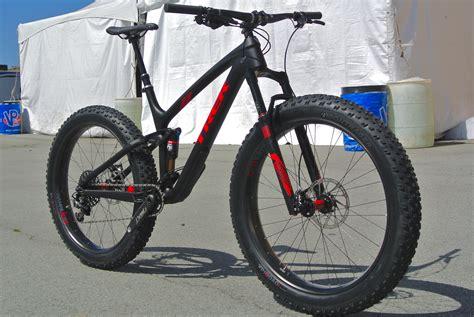 Trek Launches All-new Full Suspension Fat Bike