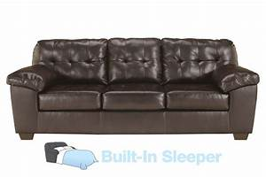 alliston bonded leather queen sleeper sofa at gardner white With bonded leather sectional sleeper sofa