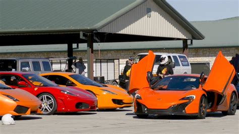 Driving Supercars On The Track!